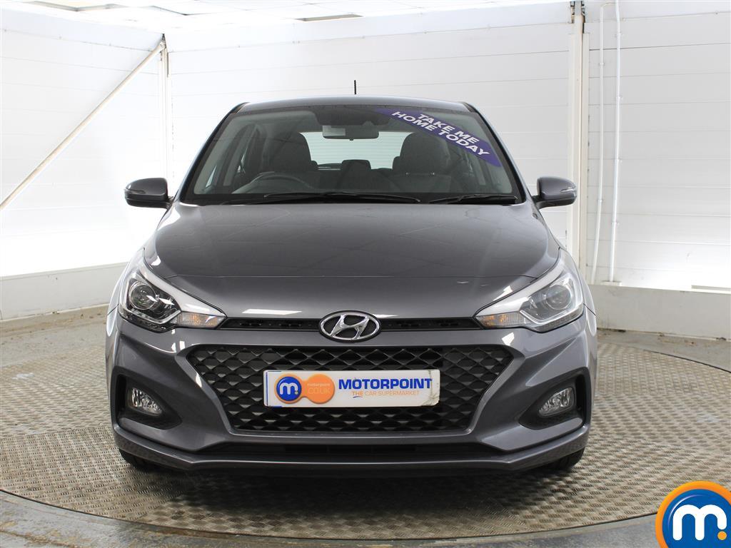 Hyundai I20 SE Manual Petrol Hatchback - Stock Number (1011672) - Front bumper
