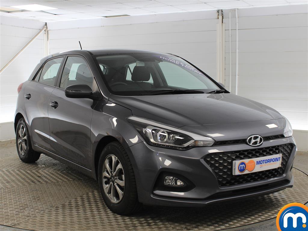 Hyundai I20 SE Manual Petrol Hatchback - Stock Number (1011672) - Drivers side front corner
