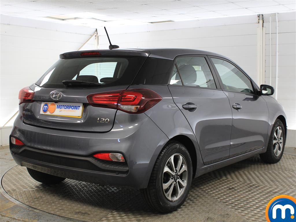 Hyundai I20 SE Manual Petrol Hatchback - Stock Number (1011672) - Drivers side rear corner