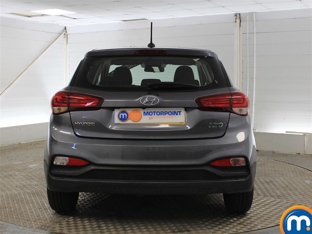 Hyundai I20 SE Manual Petrol Hatchback - Stock Number (1011672) - Rear bumper