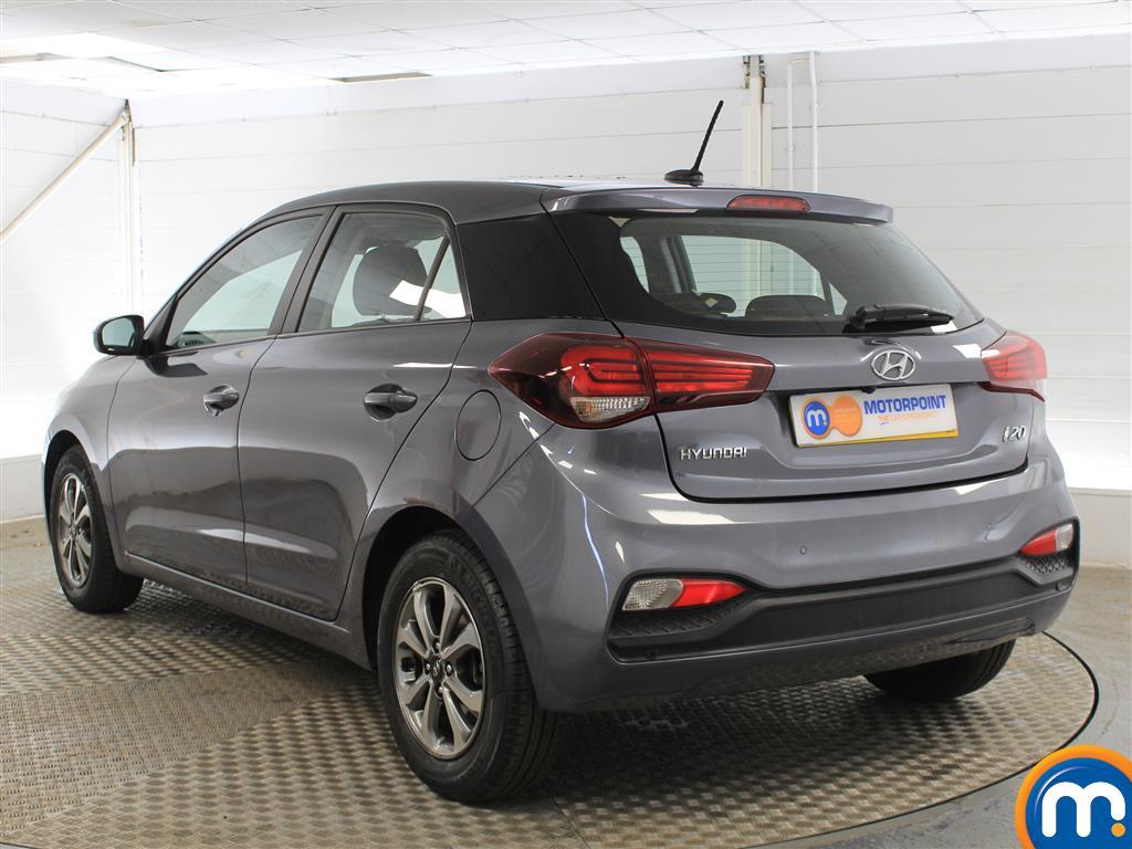Hyundai I20 SE Manual Petrol Hatchback - Stock Number (1011672) - Passenger side rear corner