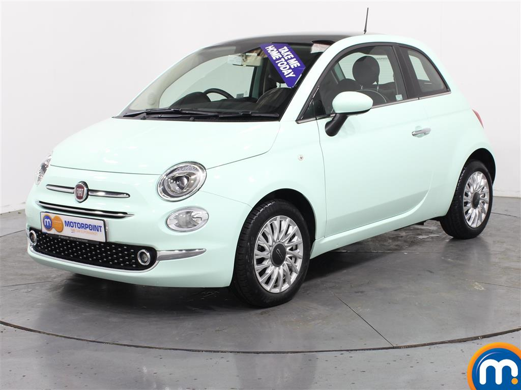 Fiat 500 Lounge - Stock Number (999166) - Passenger side front corner