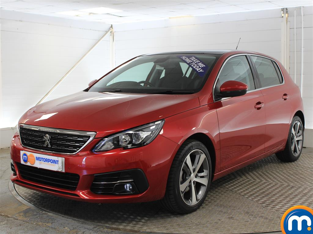 Peugeot 308 Allure Manual Petrol Hatchback - Stock Number (1011236) - Passenger side front corner