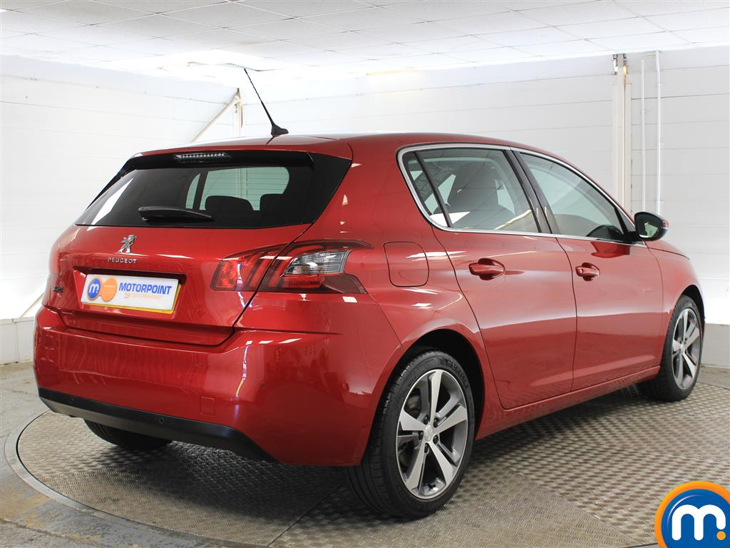 Peugeot 308 Allure Manual Petrol Hatchback - Stock Number (1011236) - Drivers side rear corner