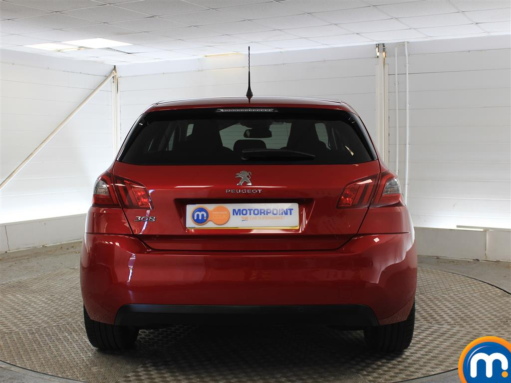 Peugeot 308 Allure Manual Petrol Hatchback - Stock Number (1011236) - Rear bumper
