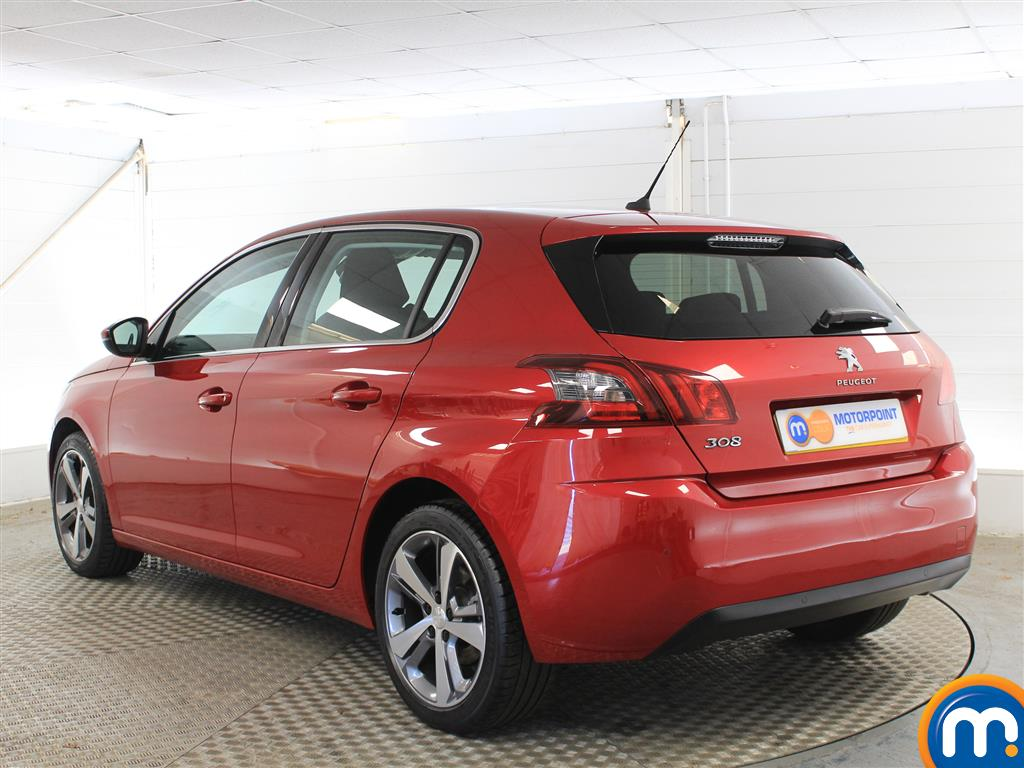 Peugeot 308 Allure Manual Petrol Hatchback - Stock Number (1011236) - Passenger side rear corner