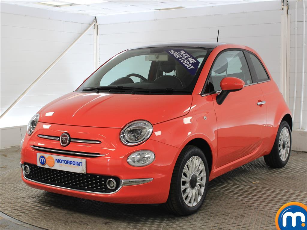 Fiat 500 Lounge Manual Petrol Hatchback - Stock Number (1011278) - Passenger side front corner