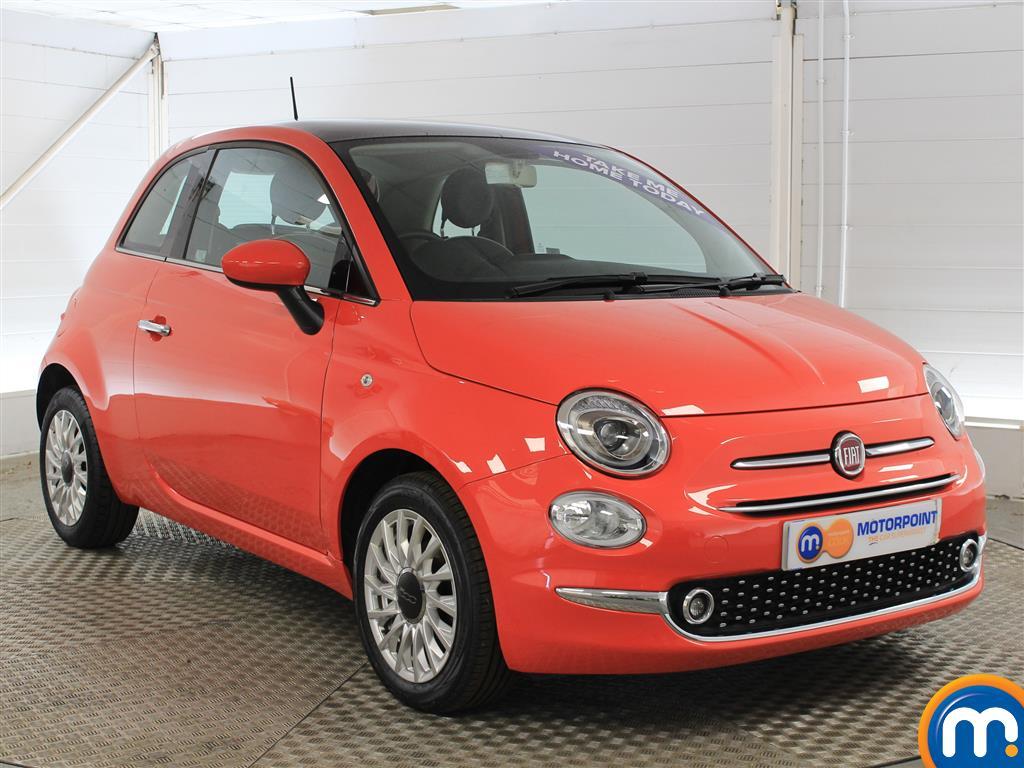 Fiat 500 Lounge Manual Petrol Hatchback - Stock Number (1011278) - Drivers side front corner