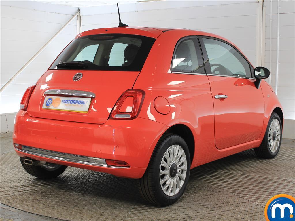 Fiat 500 Lounge Manual Petrol Hatchback - Stock Number (1011278) - Drivers side rear corner