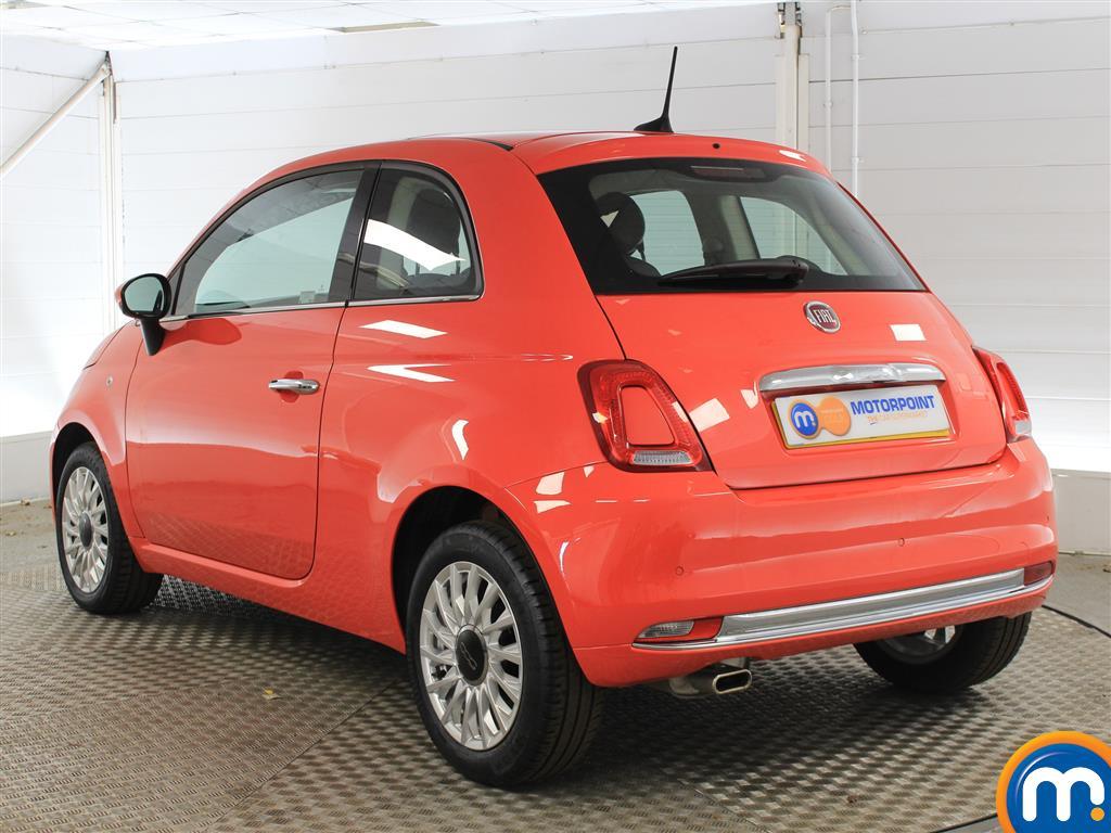 Fiat 500 Lounge Manual Petrol Hatchback - Stock Number (1011278) - Passenger side rear corner