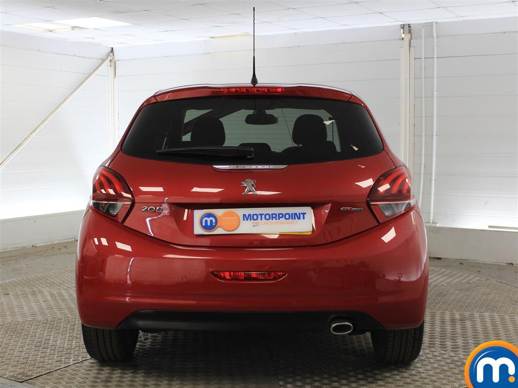Peugeot 208 Gt Line Manual Diesel Hatchback - Stock Number (1005478) - Rear bumper