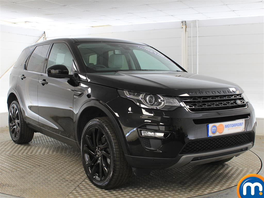 Land Rover Discovery Sport Hse Black Automatic Diesel 4X4 - Stock Number (1015045) - Drivers side front corner