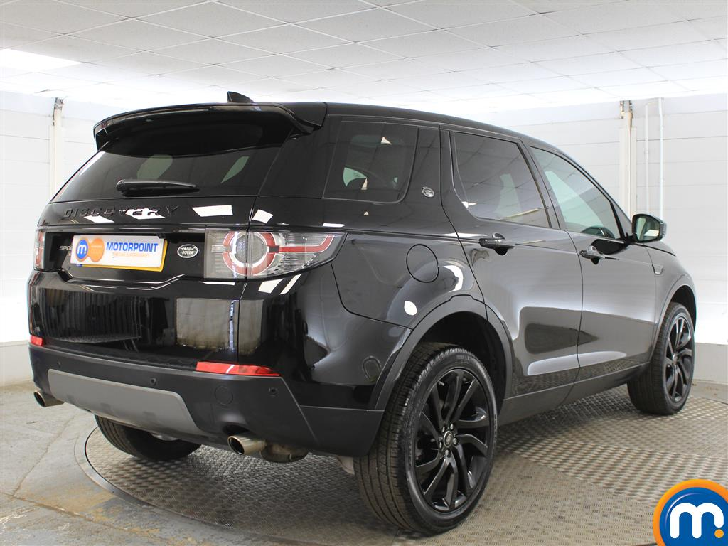 Land Rover Discovery Sport Hse Black Automatic Diesel 4X4 - Stock Number (1015045) - Drivers side rear corner