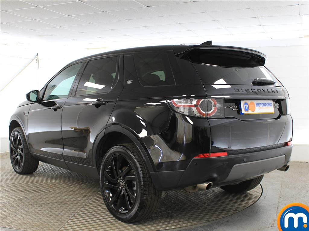 Land Rover Discovery Sport Hse Black Automatic Diesel 4X4 - Stock Number (1015045) - Passenger side rear corner