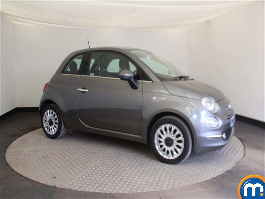Fiat 500 Lounge Automatic Petrol Hatchback - Stock Number (1015152) - Drivers side front corner