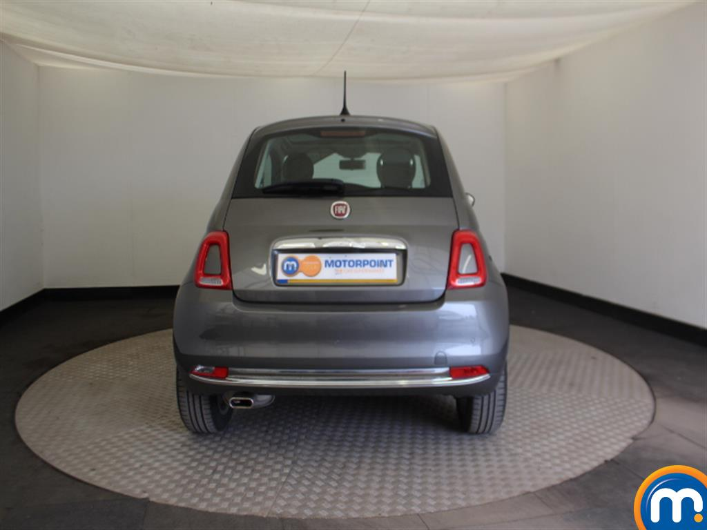 Fiat 500 Lounge Automatic Petrol Hatchback - Stock Number (1015152) - Rear bumper