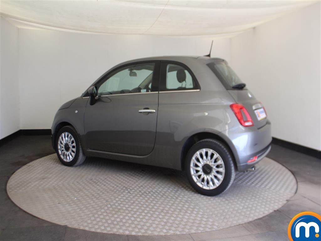 Fiat 500 Lounge Automatic Petrol Hatchback - Stock Number (1015152) - Passenger side rear corner