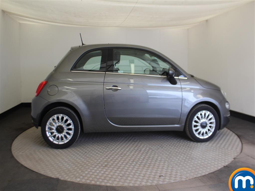 Fiat 500 Lounge Automatic Petrol Hatchback - Stock Number (1015152) - Passenger side