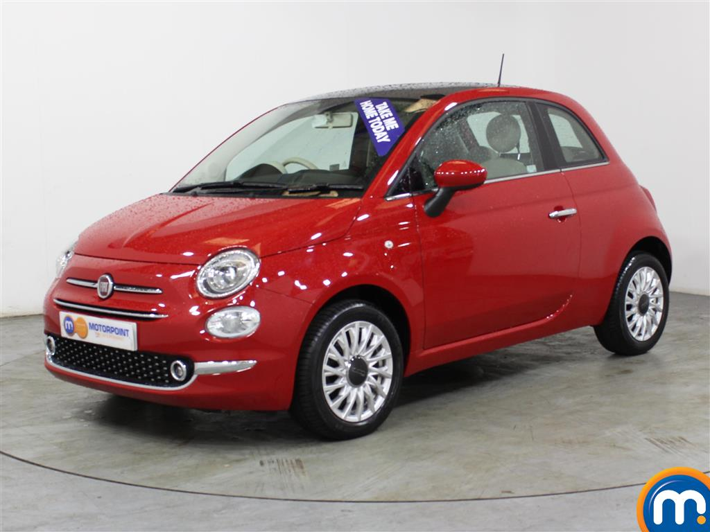 Fiat 500 Lounge - Stock Number (1014176) - Passenger side front corner