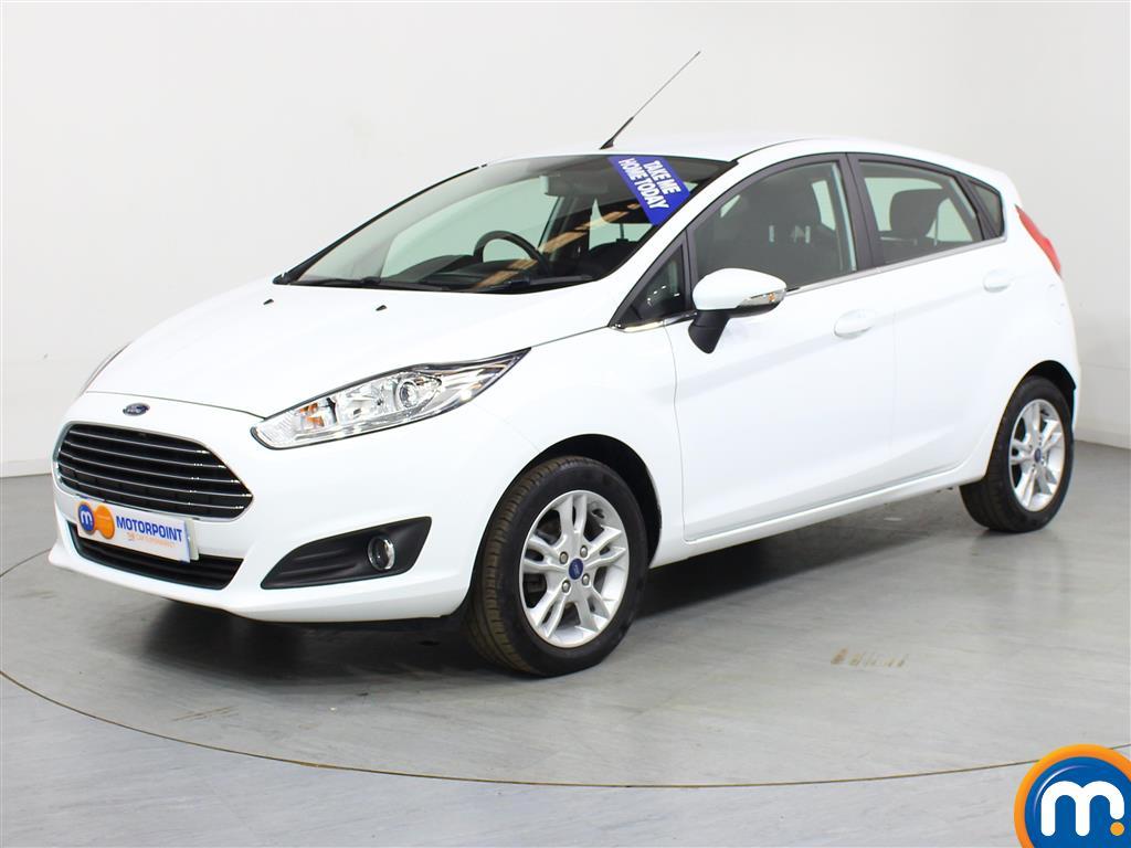 Ford Fiesta Zetec - Stock Number (1010662) - Passenger side front corner