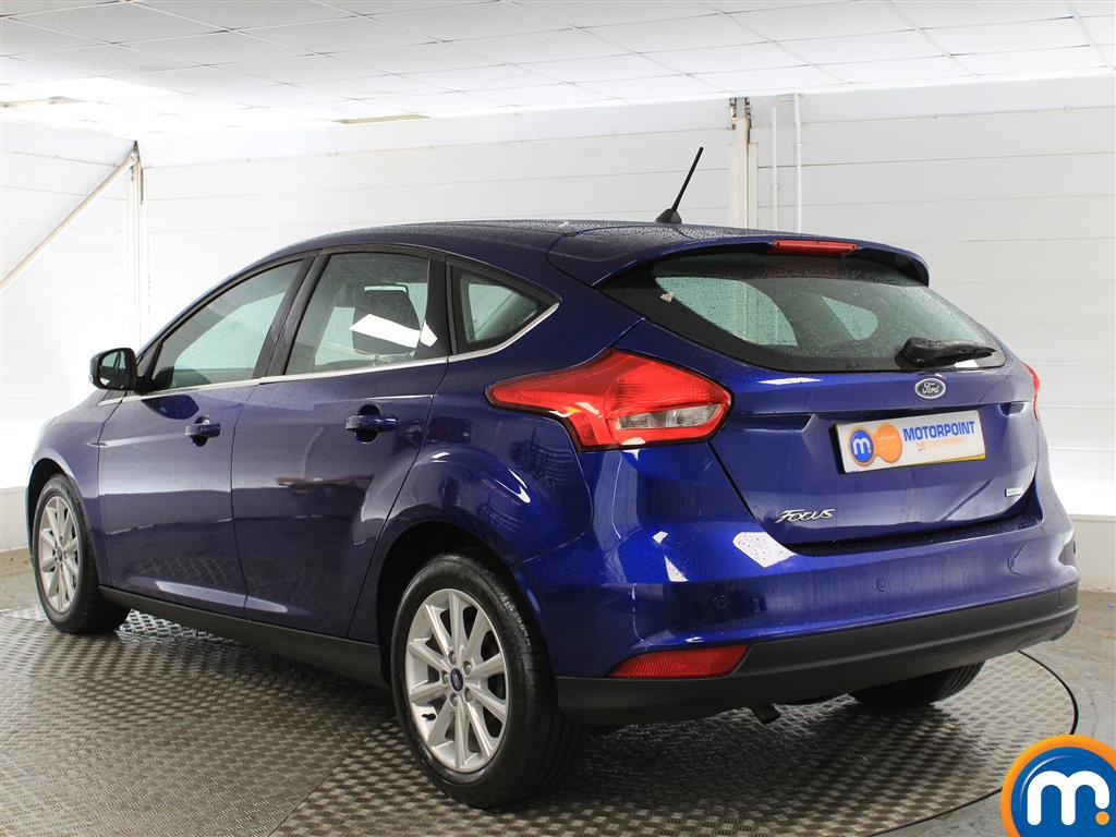 Ford Focus Titanium Manual Petrol Hatchback - Stock Number (1003744) - Passenger side rear corner
