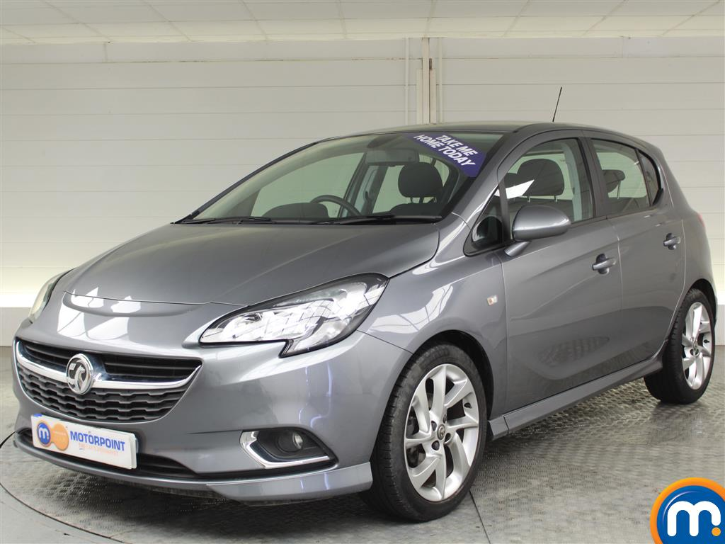 Vauxhall Corsa SRi Vx-line - Stock Number (1008500) - Passenger side front corner