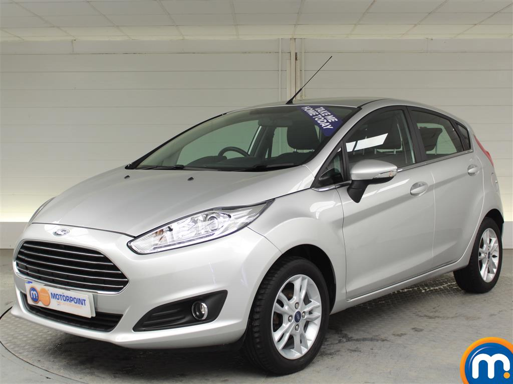 Ford Fiesta Zetec - Stock Number (1007529) - Passenger side front corner