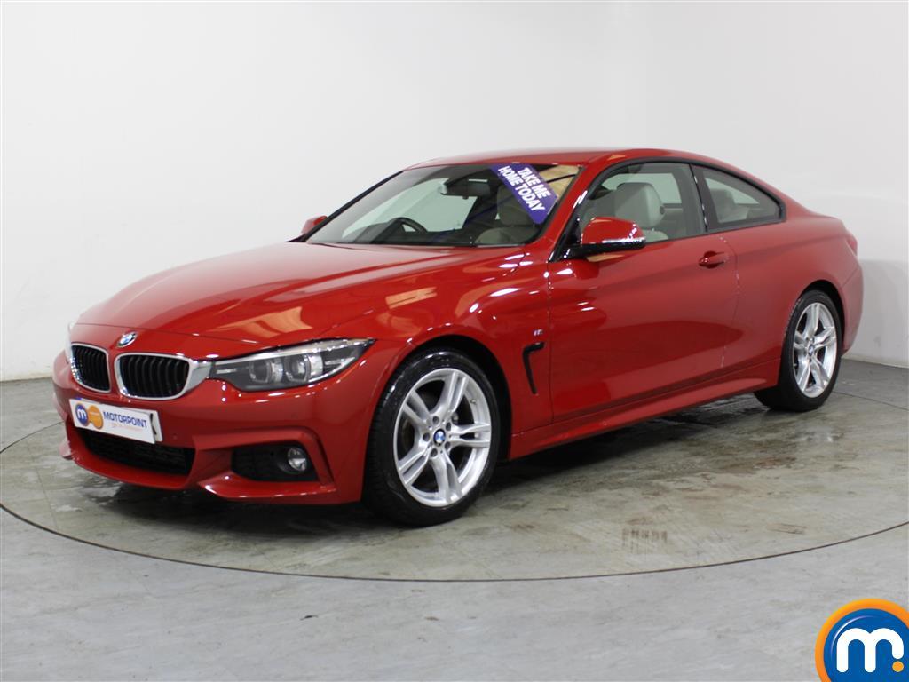 BMW 4 Series M Sport - Stock Number (1015040) - Passenger side front corner