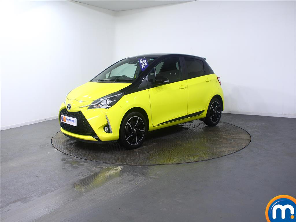 Toyota Yaris Yellow Edition - Stock Number (1019296) - Passenger side front corner