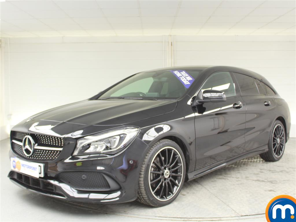 Mercedes-Benz Cla Class AMG Line Night Edtion Plus - Stock Number (1009453) - Passenger side front corner