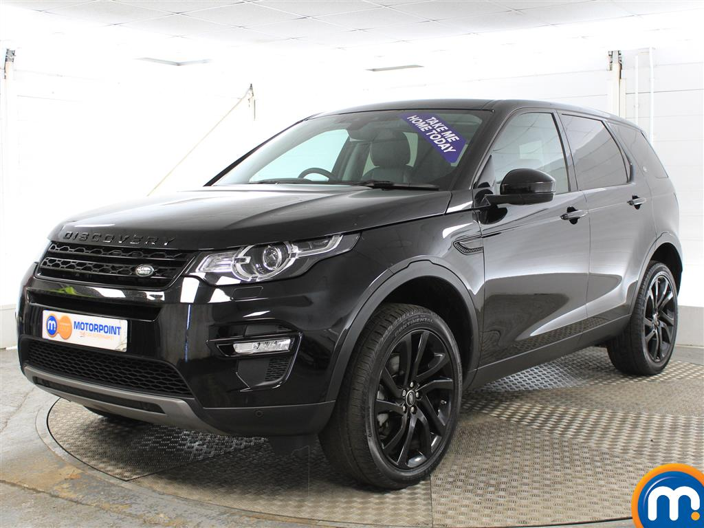 Land Rover Discovery Sport HSE Black - Stock Number (1016252) - Passenger side front corner