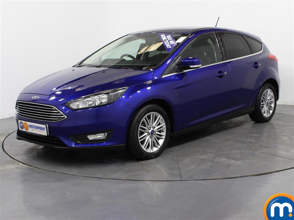 Ford Focus Zetec Edition - Stock Number (1011299) - Passenger side front corner