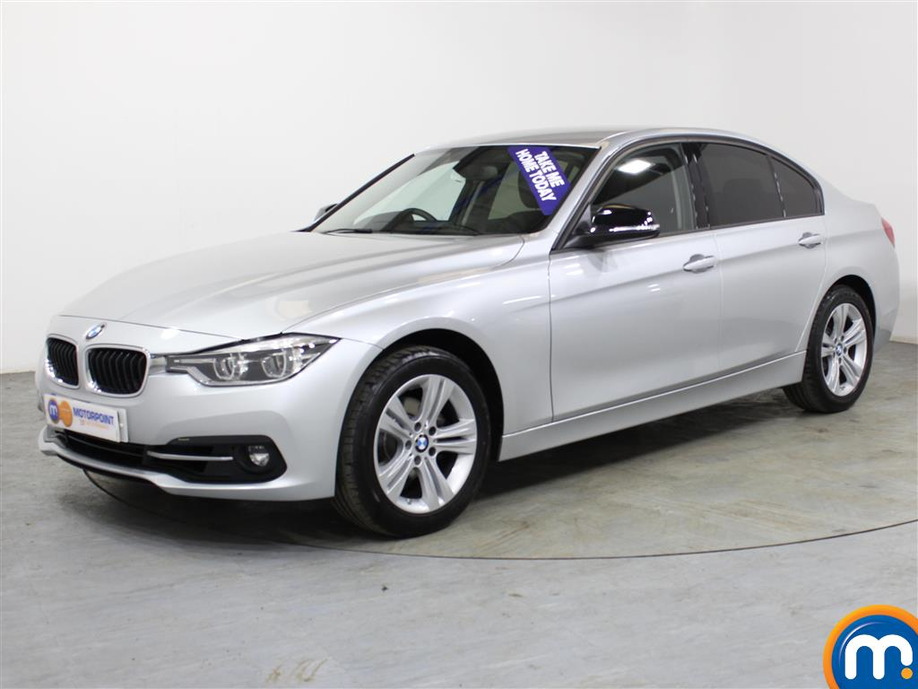 BMW 3 Series Sport Automatic Petrol Saloon - Stock Number (1018153) - Passenger side front corner