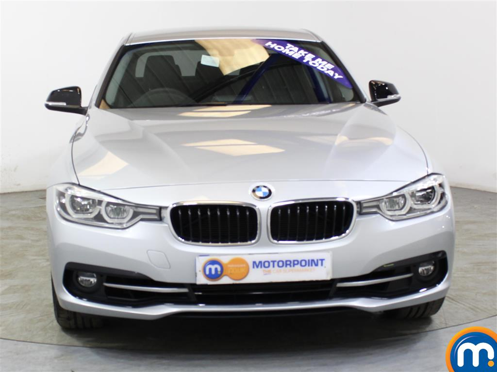 BMW 3 Series Sport Automatic Petrol Saloon - Stock Number (1018153) - Front bumper