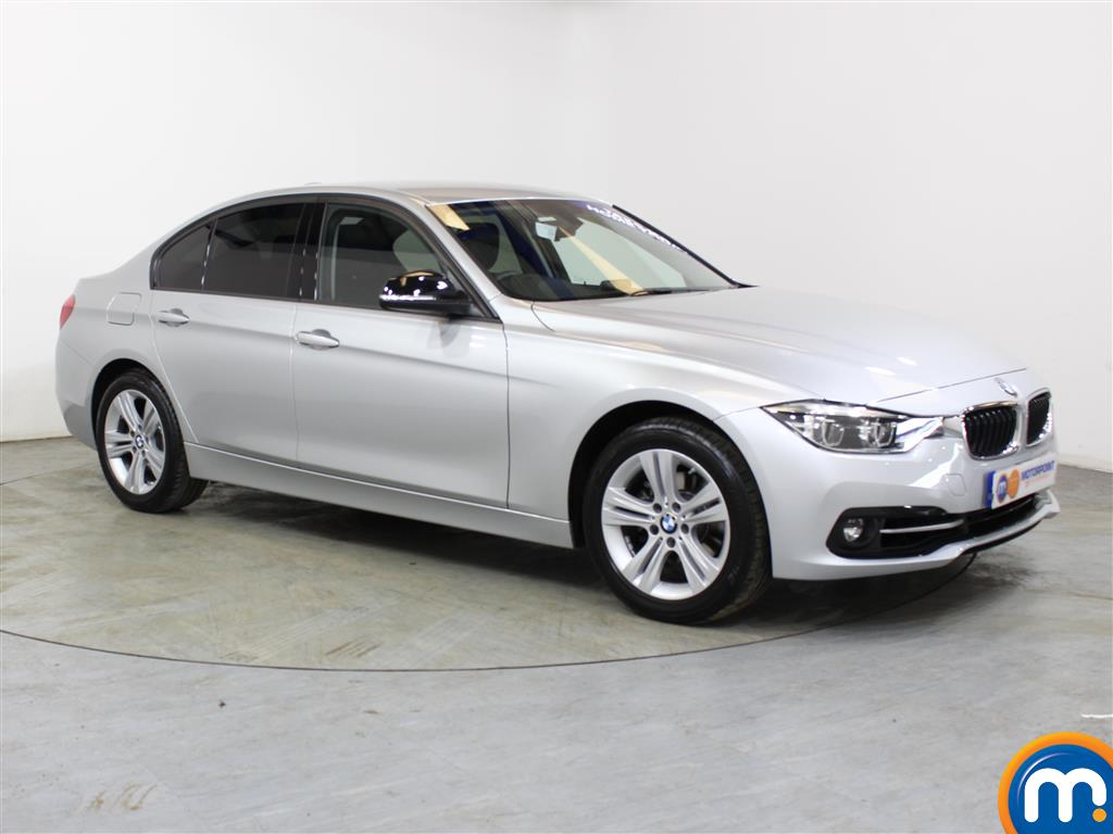 BMW 3 Series Sport Automatic Petrol Saloon - Stock Number (1018153) - Drivers side front corner