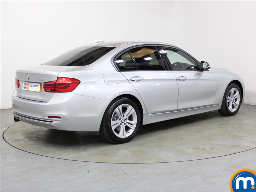 BMW 3 Series Sport Automatic Petrol Saloon - Stock Number (1018153) - Drivers side rear corner