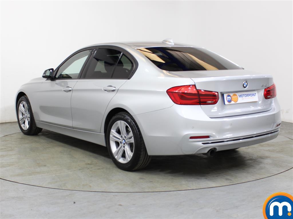 BMW 3 Series Sport Automatic Petrol Saloon - Stock Number (1018153) - Passenger side rear corner