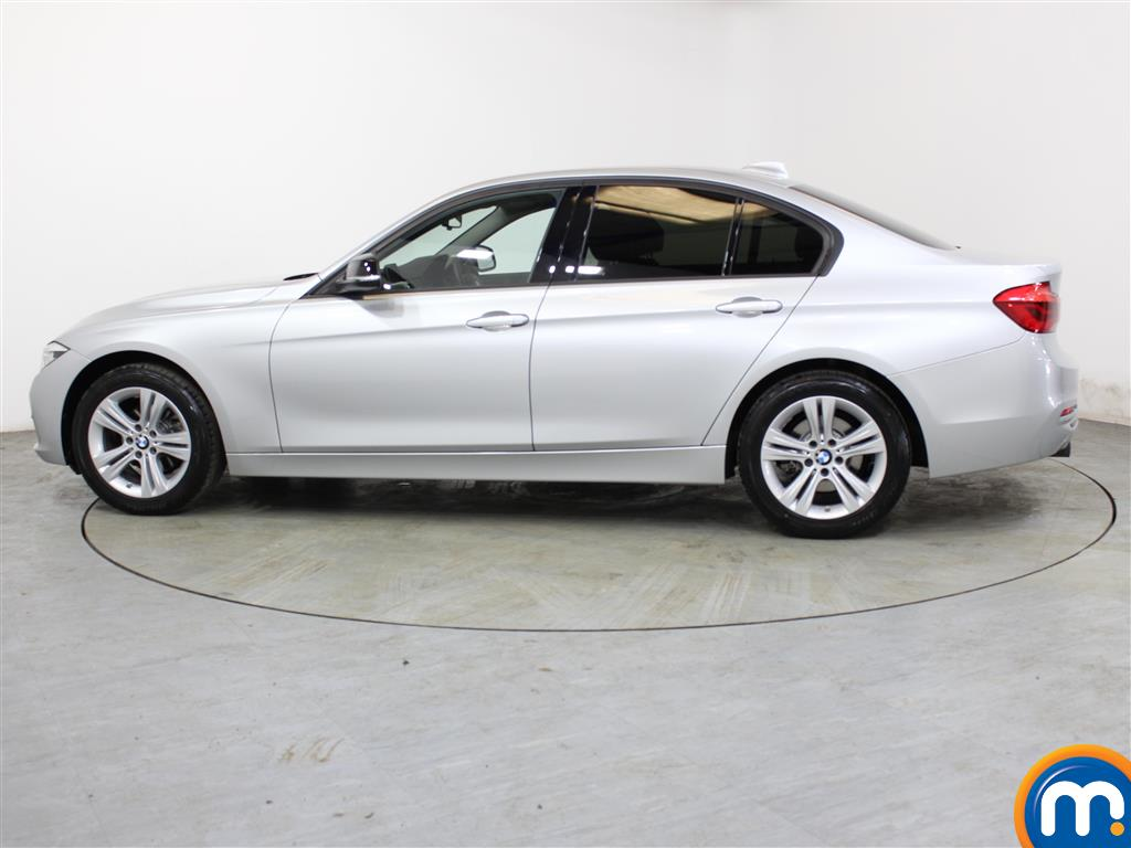 BMW 3 Series Sport Automatic Petrol Saloon - Stock Number (1018153) - Passenger side