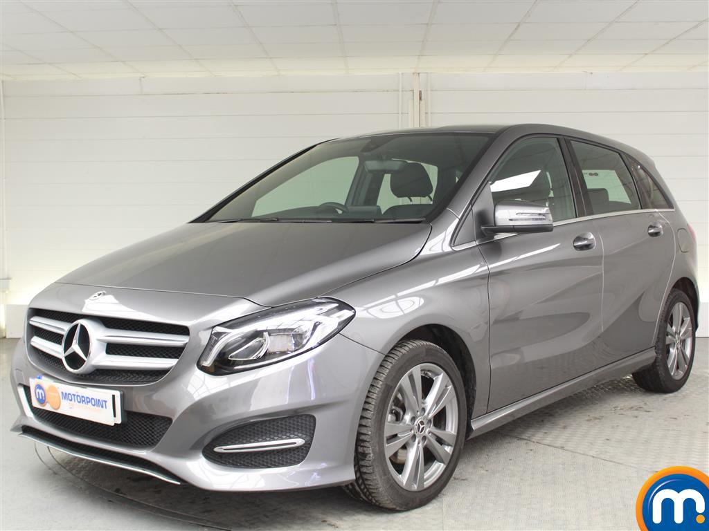 Mercedes-Benz B Class Exclusive Edition - Stock Number (1008659) - Passenger side front corner