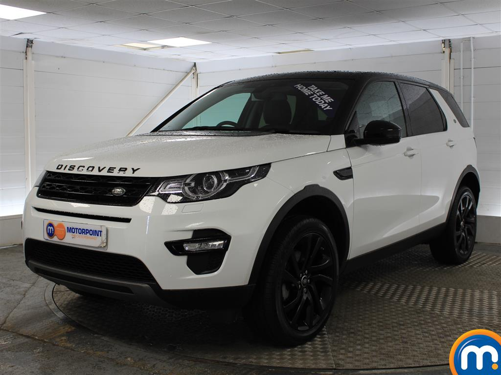 Land Rover Discovery Sport Hse Black Automatic Diesel 4X4 - Stock Number (1016250) - Passenger side front corner