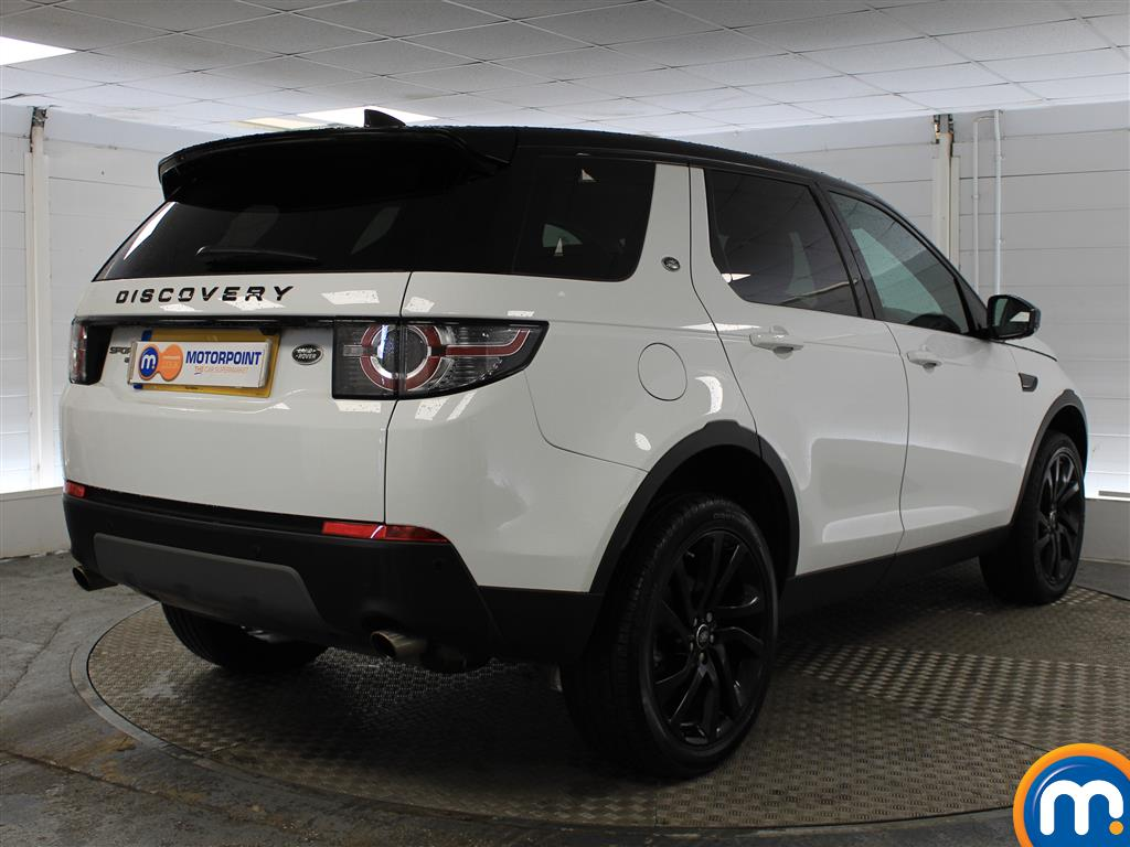 Land Rover Discovery Sport Hse Black Automatic Diesel 4X4 - Stock Number (1016250) - Drivers side rear corner