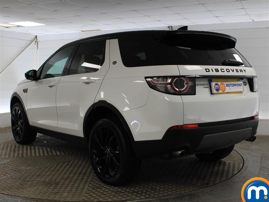 Land Rover Discovery Sport Hse Black Automatic Diesel 4X4 - Stock Number (1016250) - Passenger side rear corner