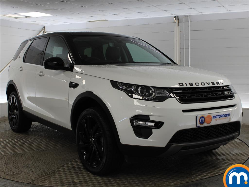 Land Rover Discovery Sport Hse Black Automatic Diesel 4X4 - Stock Number (1005749) - Drivers side front corner