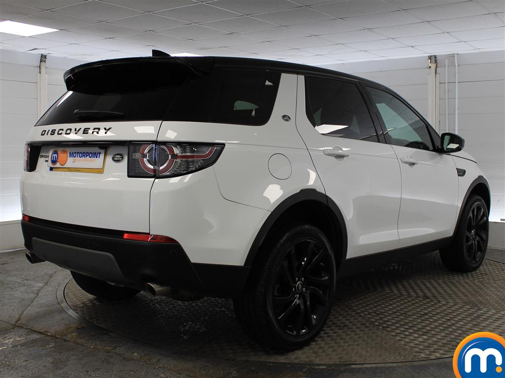 Land Rover Discovery Sport Hse Black Automatic Diesel 4X4 - Stock Number (1005749) - Drivers side rear corner