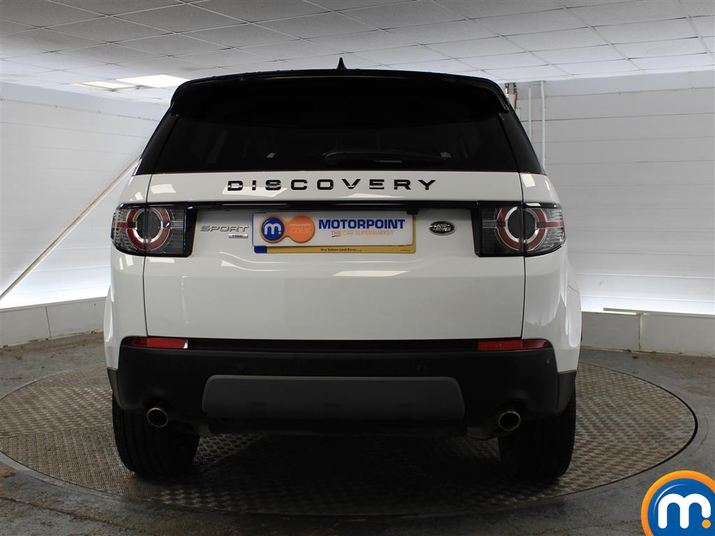 Land Rover Discovery Sport Hse Black Automatic Diesel 4X4 - Stock Number (1005749) - Rear bumper