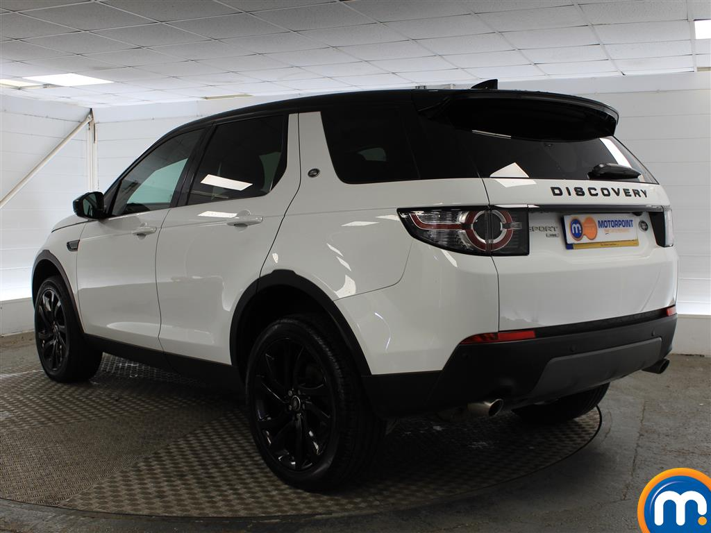 Land Rover Discovery Sport Hse Black Automatic Diesel 4X4 - Stock Number (1005749) - Passenger side rear corner