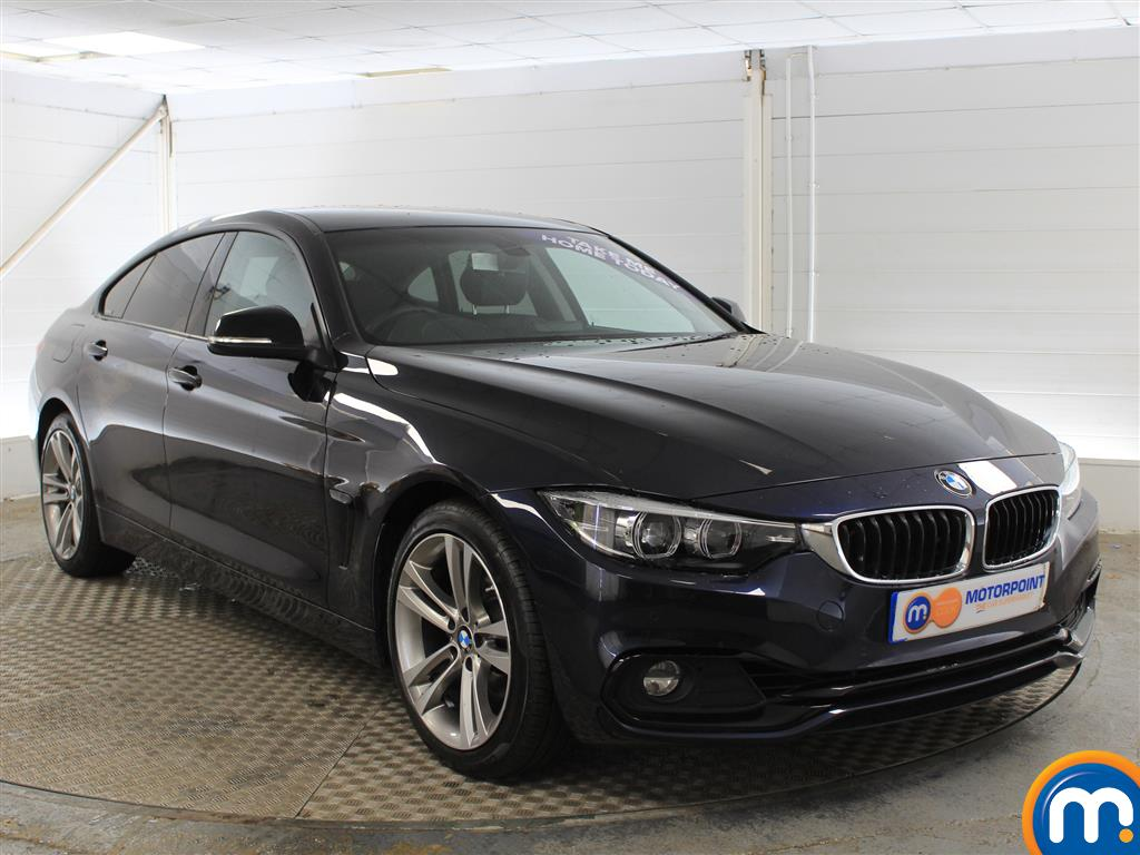 BMW 4 Series Sport Manual Petrol Coupe - Stock Number (1018253) - Drivers side front corner