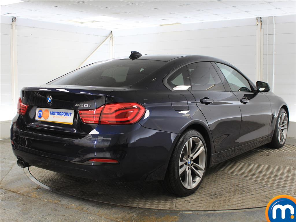 BMW 4 Series Sport Manual Petrol Coupe - Stock Number (1018253) - Drivers side rear corner