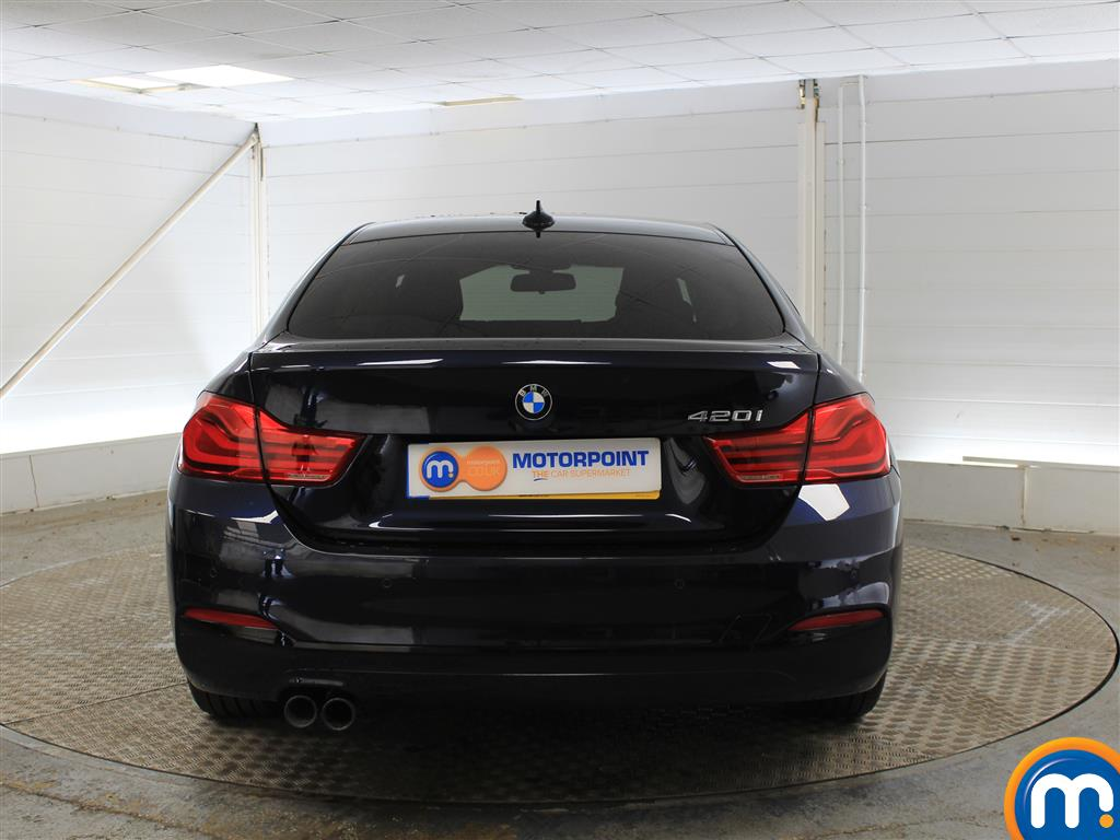 BMW 4 Series Sport Manual Petrol Coupe - Stock Number (1018253) - Rear bumper