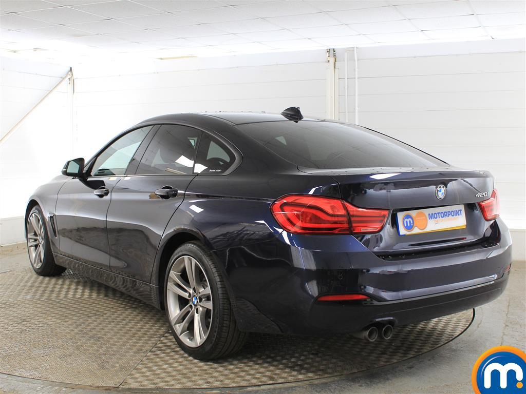 BMW 4 Series Sport Manual Petrol Coupe - Stock Number (1018253) - Passenger side rear corner